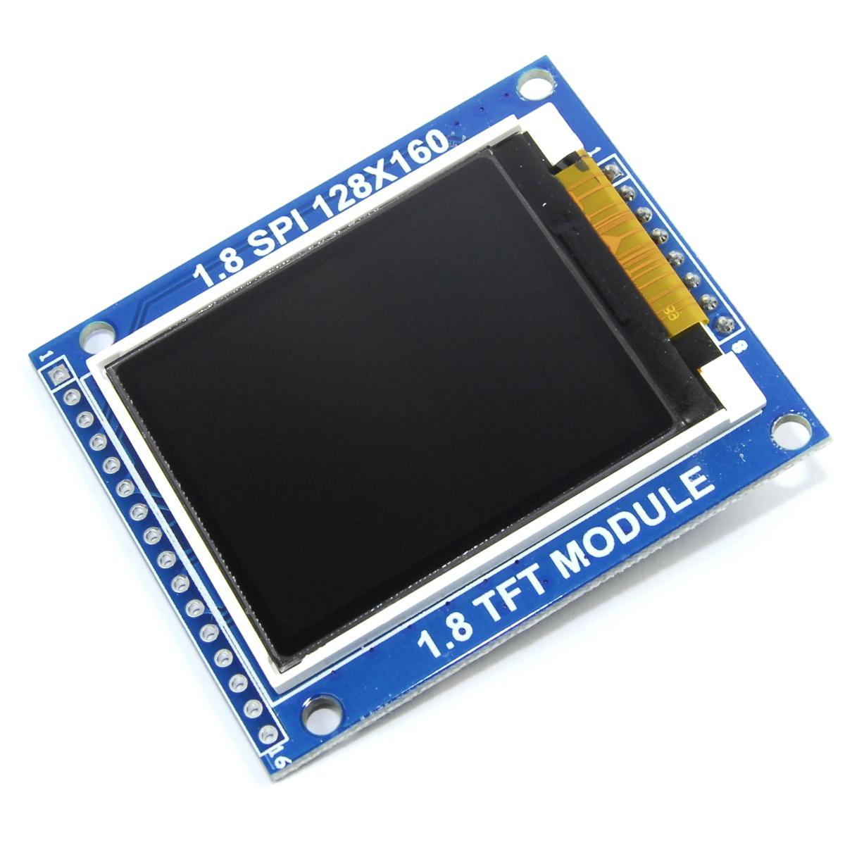 """1.8/"""" 128x160 Módulo LCD TFT color Sd Spi Arduino PI Flux taller 5 V 3.3"""