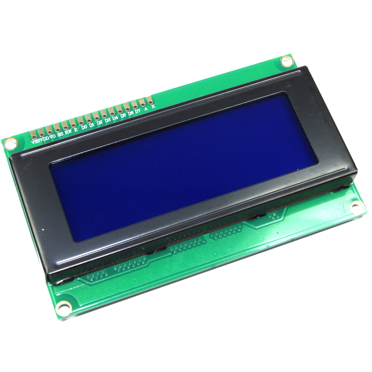 2004a 20x4 Blue Module Hd44780 Arduino Raspberry Pi Serial I2c Flux Cnc Lcd Character 2004 5v Backlight Images