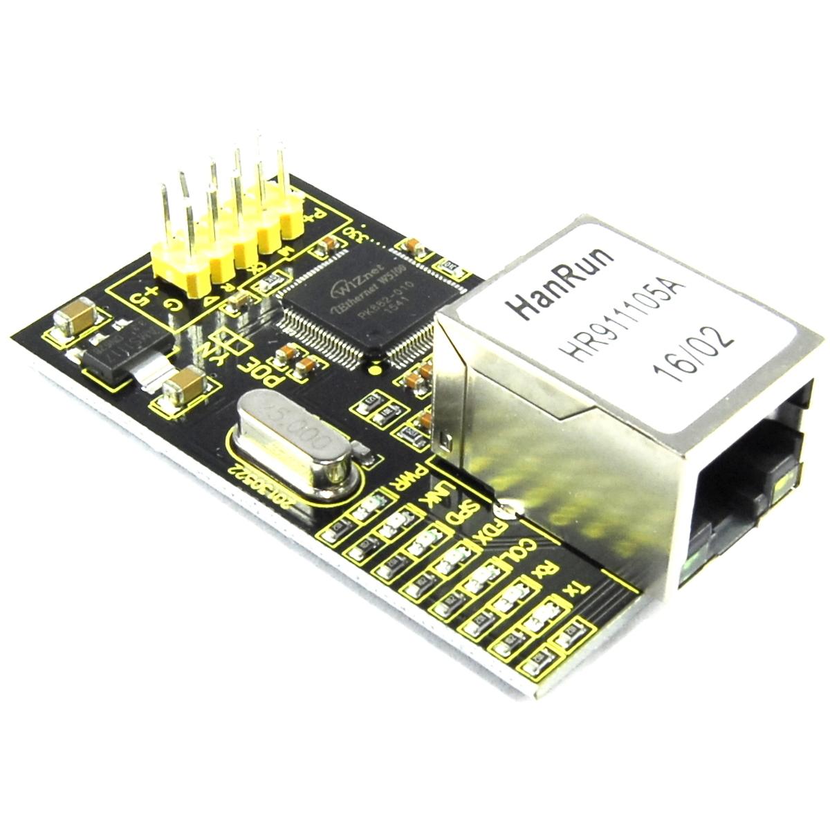 Keyestudio W5100 Ethernet Breakout Module KS-148 RJ45 SPI Arduino Flux Workshop