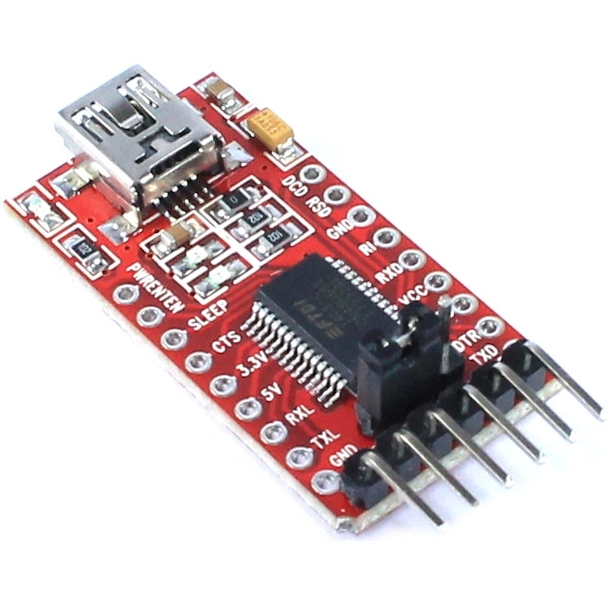 Serial adapter module ft ftdi usb ttl arduino pro mini