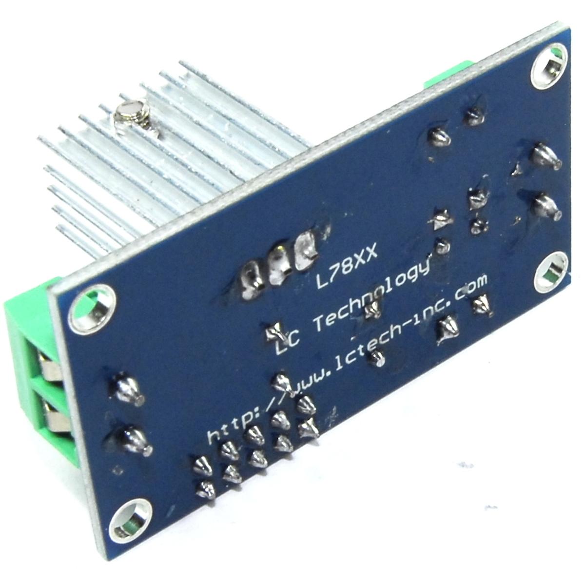 Lc Technology 9v Regulator Module Lm7809 12 20v Screw Dc Ac Flux 9 V Using 7809 Images