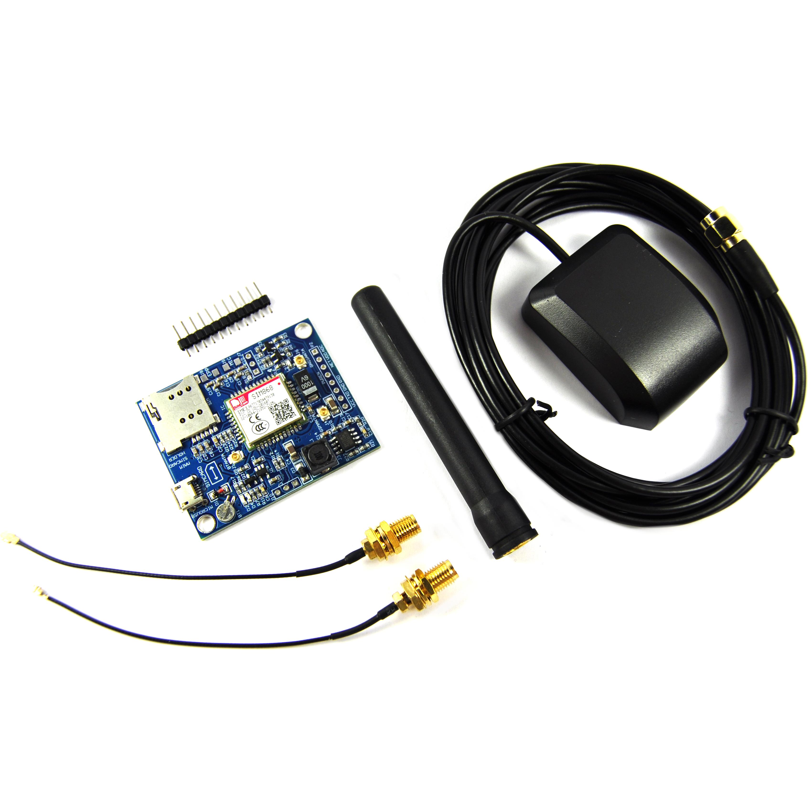 LC Technologie SIM800C Development Board GSM GPRS SIM Flux Workshop
