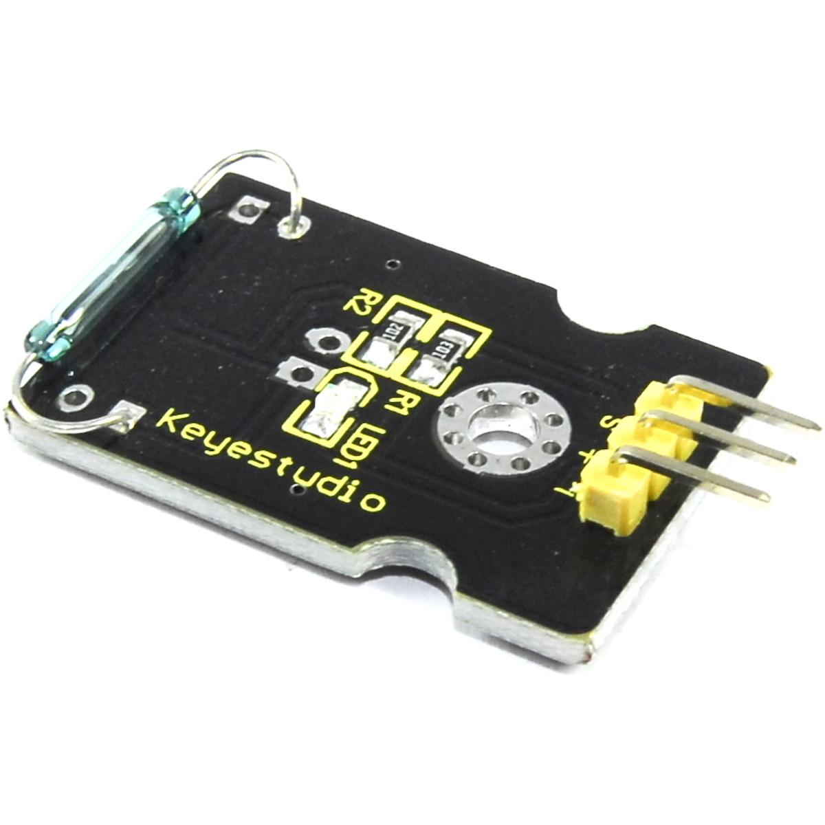 Keyes Mini Interruptor de láminas KY-021 Magnético Arduino Raspberry Pi Flux Workshop