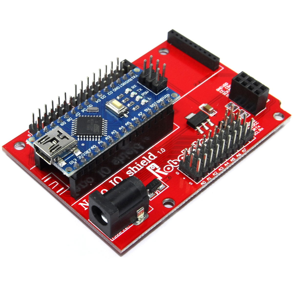 Arduino NANO Breakout Shield Sensor V3 DUEMILANOVE UNO Funduino Flux Workshop
