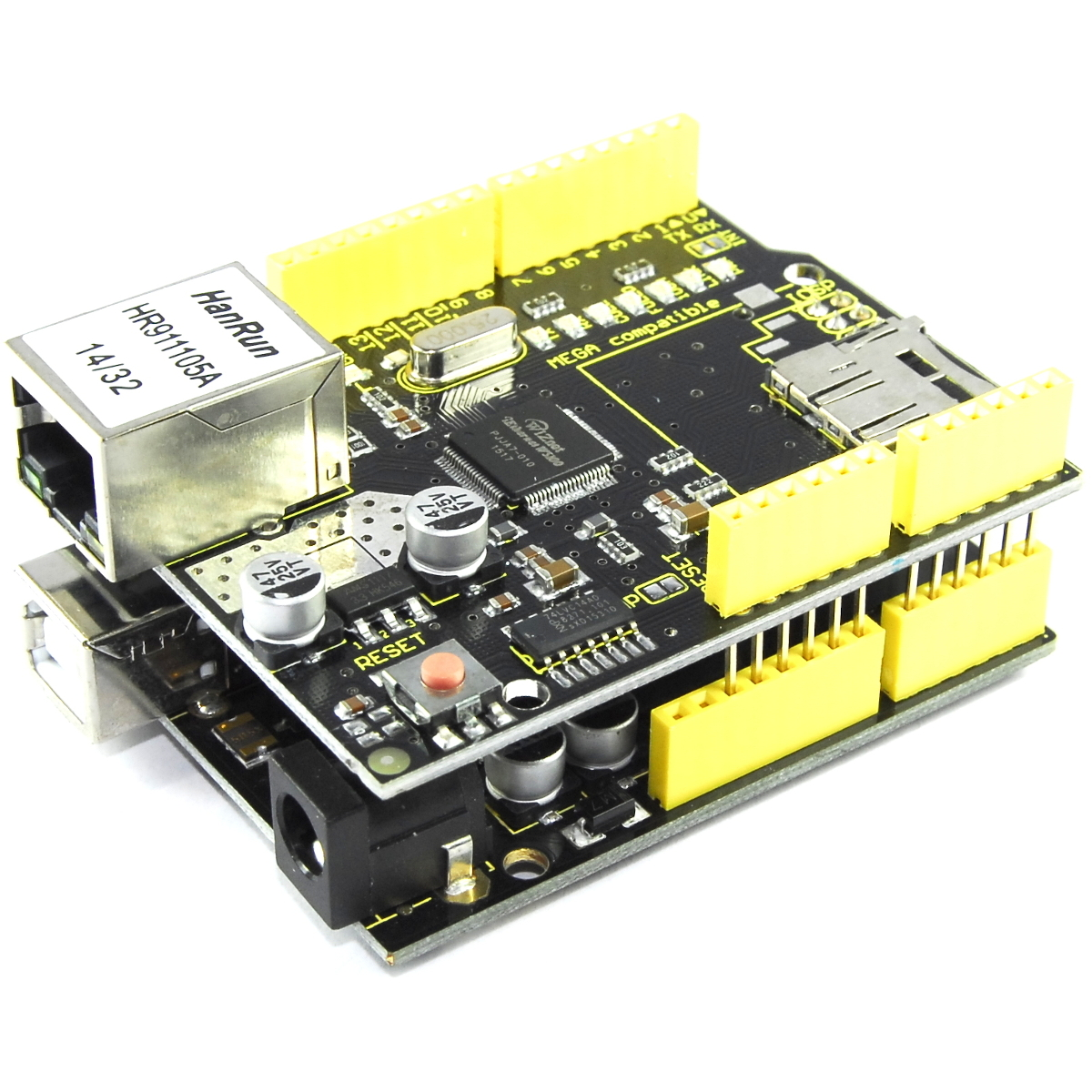 Keyestudio W5100 Ethernet Schild Modul Ks-156 Arduino Uno Mega Flux Workshop