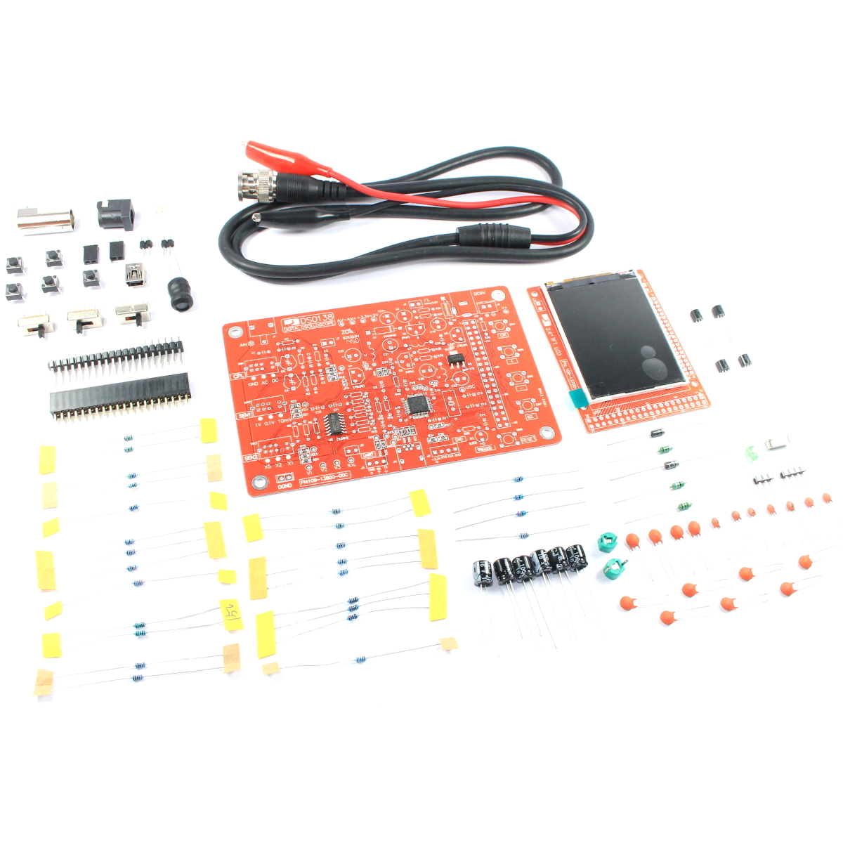 Jye tech dso138 digital oscilloscope kit 13803k unsoldered diy ds0 jye tech dso138 digital oscilloscope kit 13803k unsoldered diy ds0 flux workshop ebay solutioingenieria Image collections
