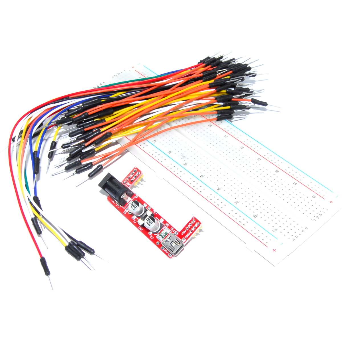 Keyes Breadboard Power Supply MB-102 5V 3.3V USB Arduino MD-112 Flux Workshop